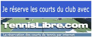 Réservation des courts en ligne