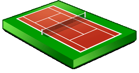 Tennis club beauvechain accueil for Surface d un terrain de tennis
